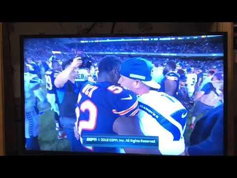 Khalil Mack, Sebastian Janikowski Ex Oakland Raiders Talk After Bears Seahawks MNF Game