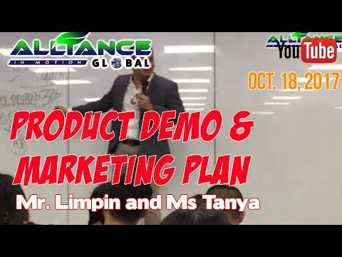 Product Demo and Marketing Plan By. Mr Limpin and Ms Tanya