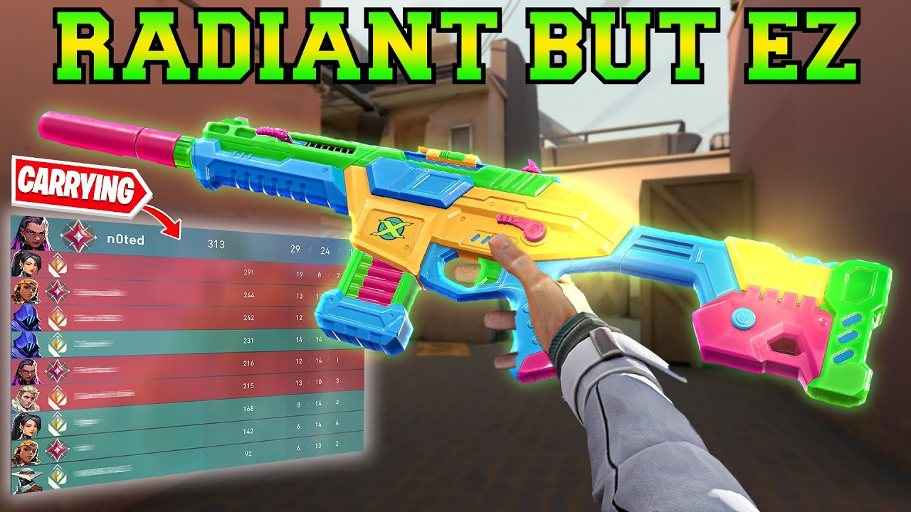 RADiANT RANKED But We Carry – Valorant
