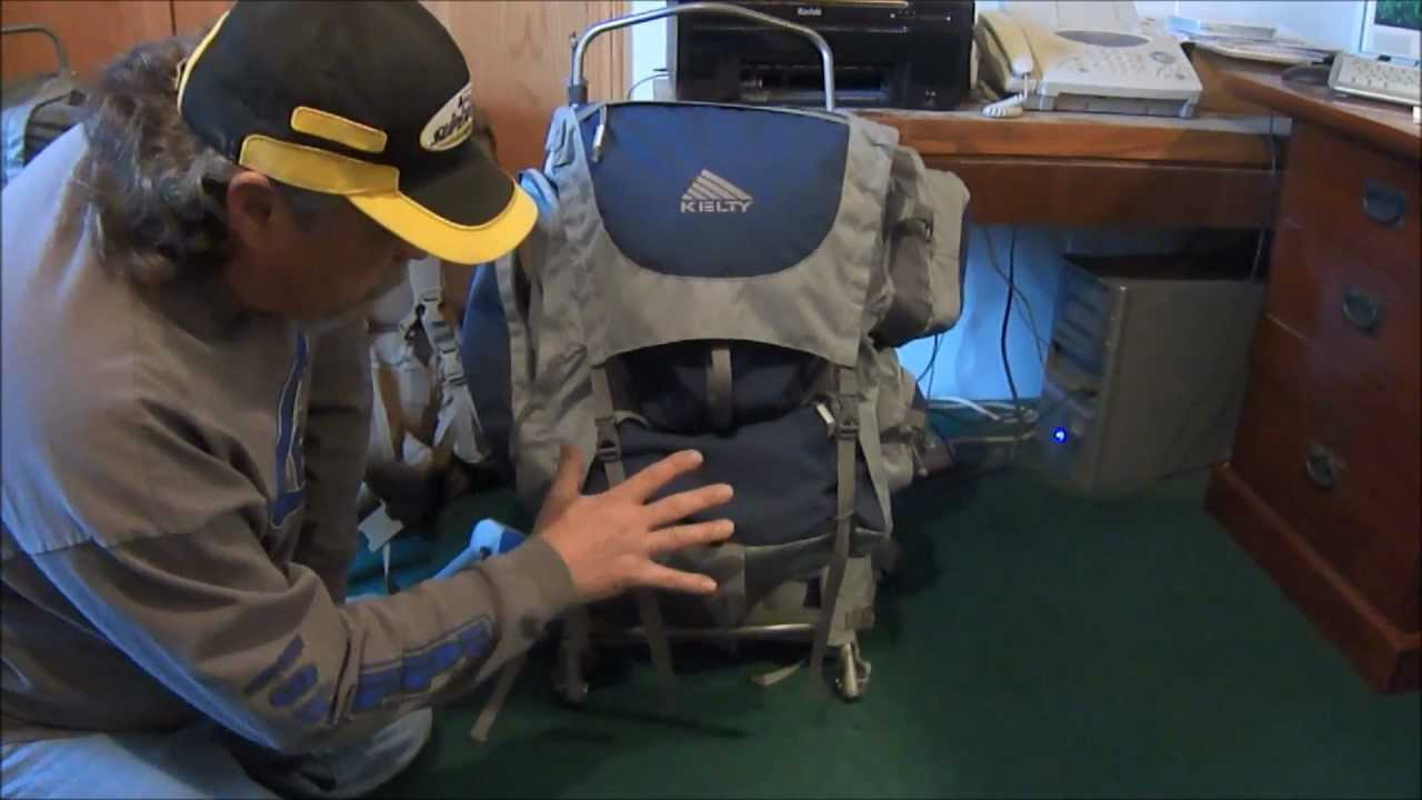 Kelty Tioga 5500 Backpack Review - YouTube