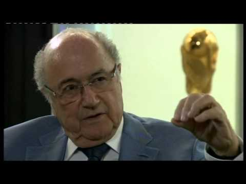 Sepp Blatter interview 2015