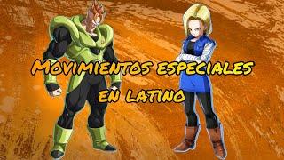Androide 16 & Androide 18 Movimientos especiales mod latino
