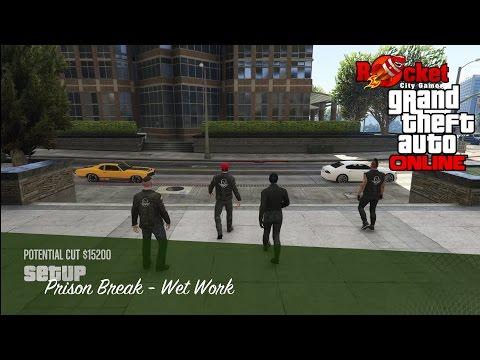 Prison Break - Wet Work (Popping Popov) | KUFFS Crew Heist Missions | GTA Online