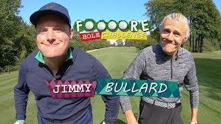 SMASHING A 7 IRON THROUGH A HOTEL CORRIDOR!!!  | JIMMY BULLARD | FOOOORE HOLE CHALLENGE