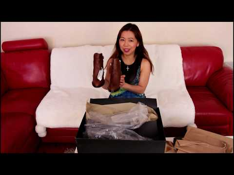 Unboxing Burberry Boots