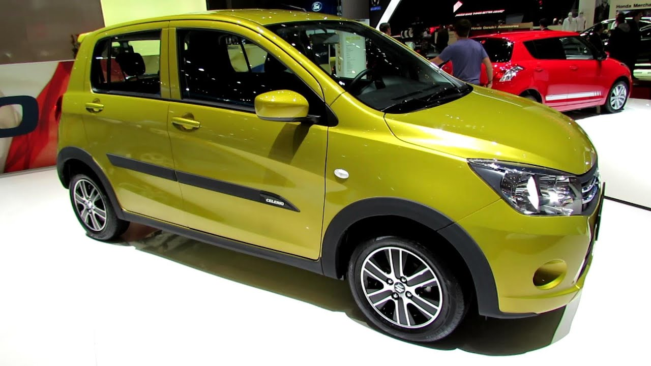 2015 Suzuki Celerio Exterior And Interior Walkaround Debut At