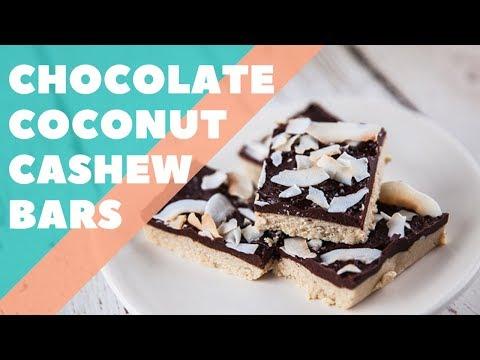 Chocolate Coconut Cashew Bars | Good Chef Bad Chef S10 E4