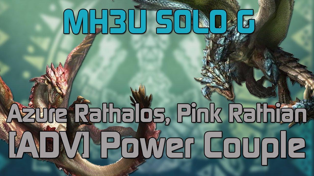 mh3u monster hunter 3 ultimate solo g rank hr7 power