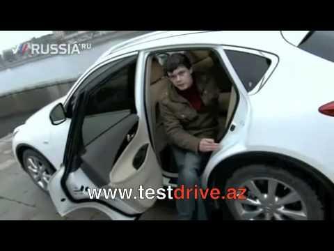 Infiniti EX35 - Тест-драйв
