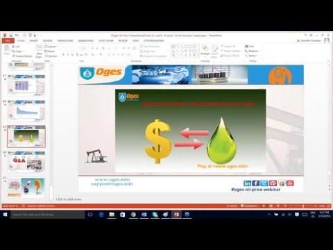 OIL PRICE  Calculation, Prediction   Impact
