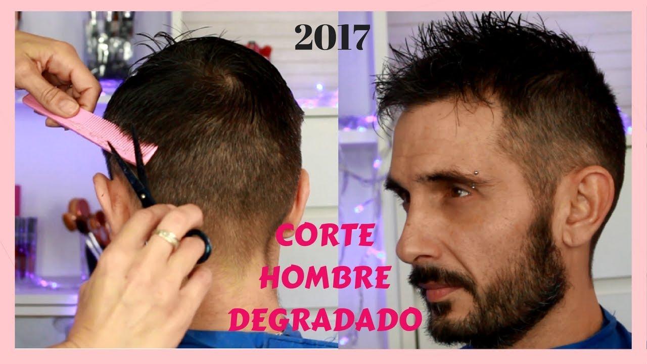 Corte De Pelo Hombre Degradado Suave 2017 Sandranewlook Youtube
