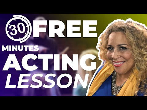 Free Acting Lesson. 30 minute beginners session. From LA Tal