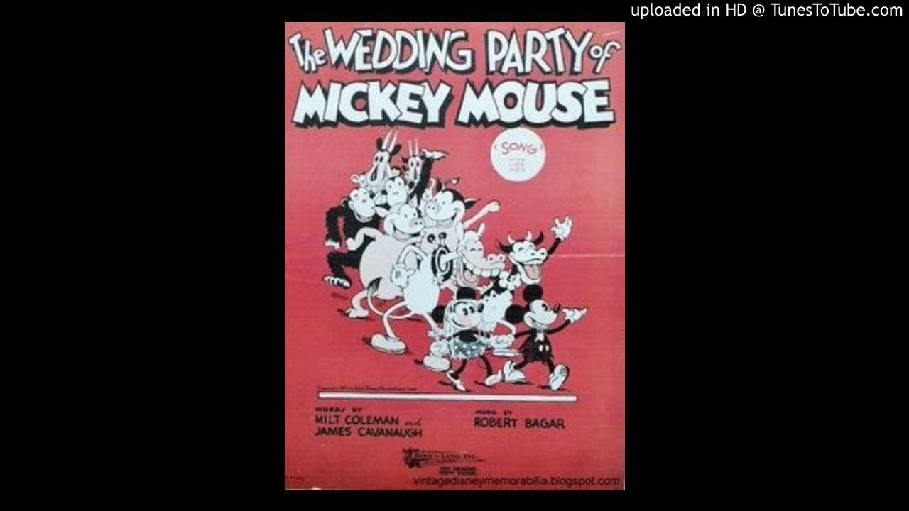 The Wedding Party of Mickey Mouse\