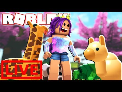 ROBLOX FEED YOUR PETS LIVE!