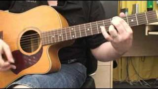How To Play Drive by Incubus on Acoustic Guitar