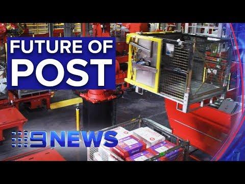 Australia Post Unveil 'robots' To Deliver Your Parcels Faster | Nine News Australia
