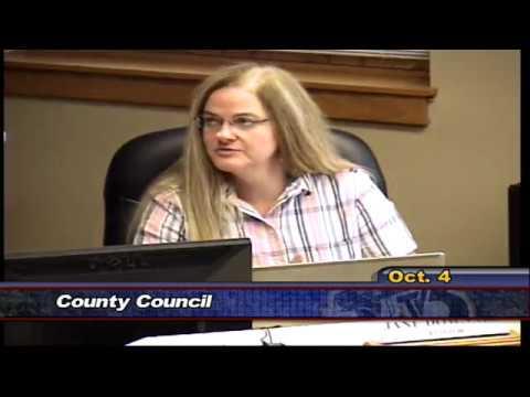 County Council - October 4, 2016