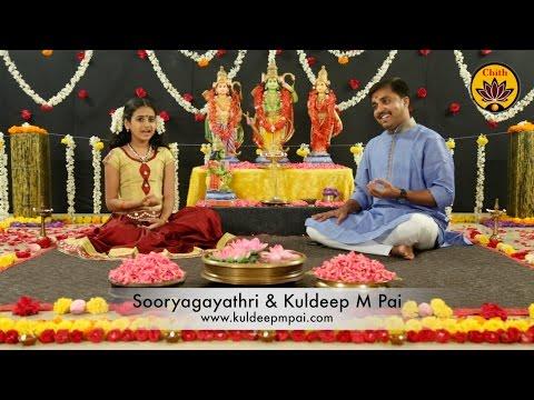Rama Ashtakam - Sooryagayathri & Kuldeep M Pai - 'Vande Guru Paramparaam'