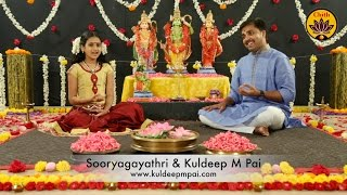 Rama Ashtakam - Sooryagayathri & Kuldeep M Pai - 'Vande Guru Paramparaam' Mp3