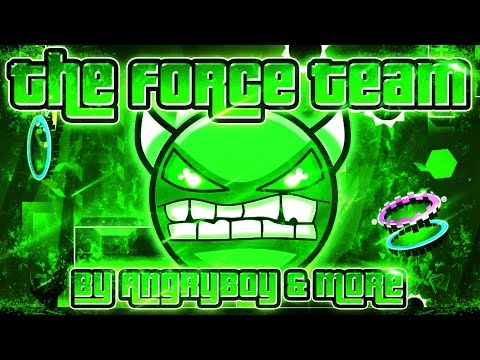 The Force Team 100% GAMEPLAY Online (AngryBoy & more) EASY DEMON