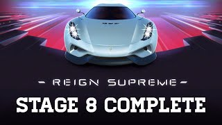Real Racing 3 Reign Supreme Stage 8 Upgrades 1110101 Koenigsegg Regera RR3