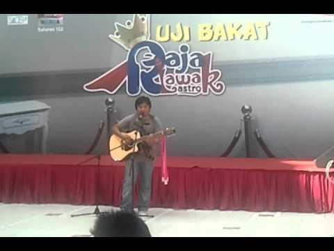 Zahid AF - Break Off (Lagu Baru) @ Ujibakat Raja Lawak @ SACC Mall