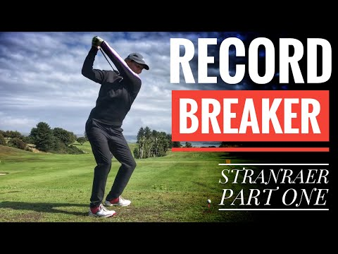 SHE'S A RECORD BREAKER - Stranraer Golf Club - Part One