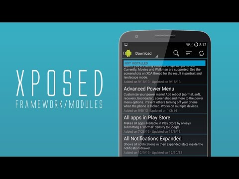 How to use Xposed Framework (Rooted) (2019) - YouTube