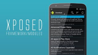 Gambar cover How to use Xposed Framework (Rooted) (2019)