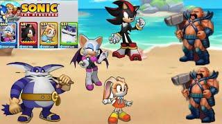 Sonic The Hedgehog || SEGA HEROES || (Android,ios) Gameplay - Walkthrough
