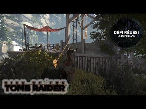 Rise of the Tomb Raider: Défi: Le coup du lapin - 6 lapins piégés