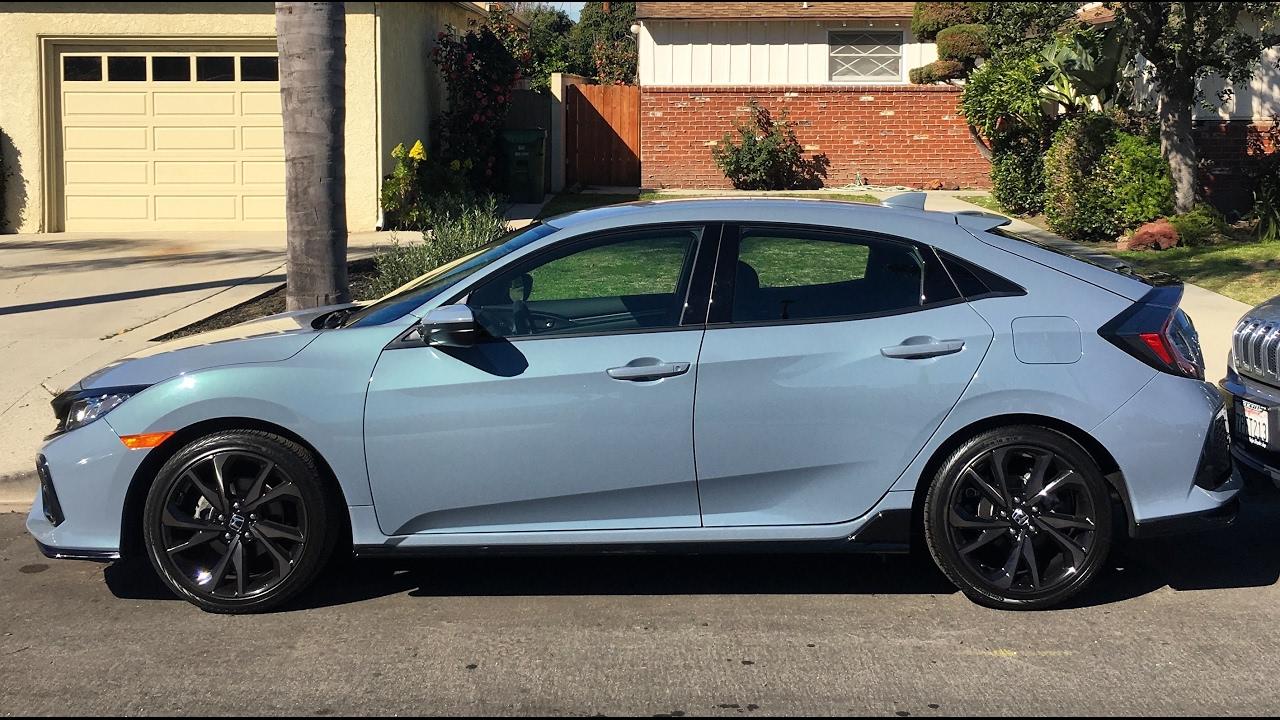 2017 Honda Civic Hatchback 1 5t Sport 6 Speed One Take