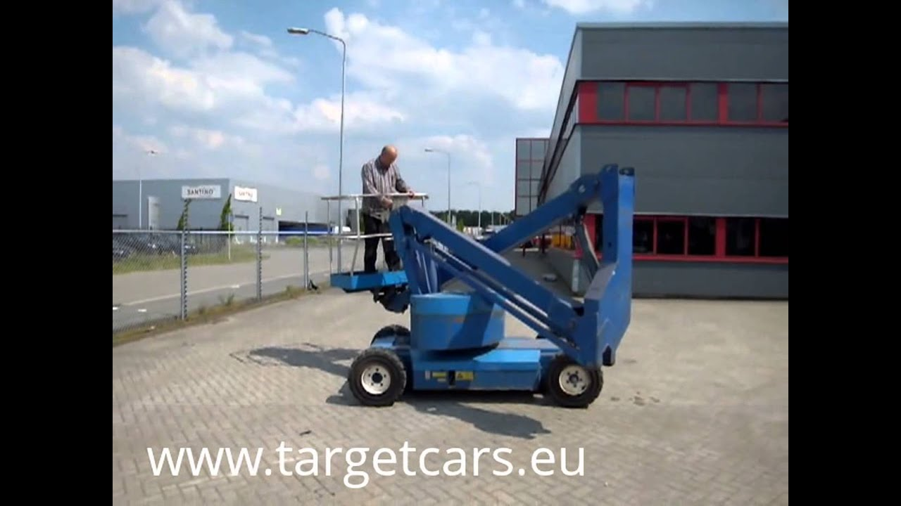 maxresdefault upright sp37 electric articulated boom lift 1330cm 1998 s1381  at webbmarketing.co