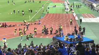 2019年3月29日 横浜FマリノスVSサガン鳥栖のハーフタイムライブ この試...