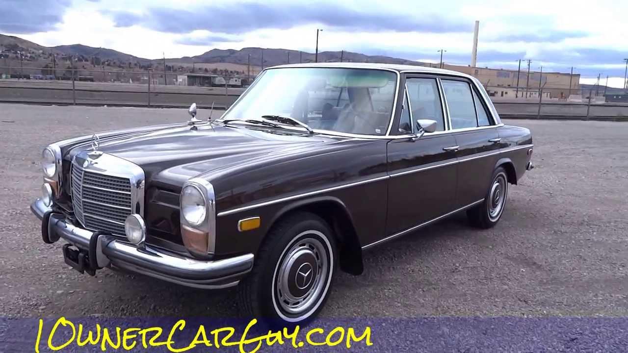 mercedes benz w115 220 diesel oldtimer classic w114 220d a. Black Bedroom Furniture Sets. Home Design Ideas