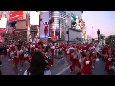 2012 University of Wisconsin (UW) Badger Marching Band - 5th Quarter Performance