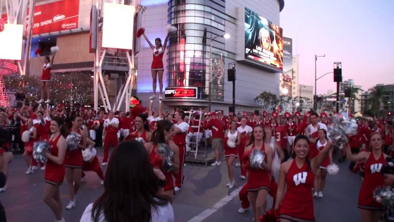 2012 University Of Wisconsin Uw Badger Marching Band 5th Quarter