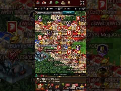 Game of War capping heroless under 16BTTT power 11/25/2017