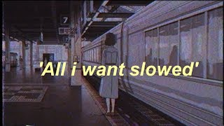 Kodaline - All I Want (slowed+reverb)