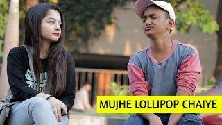 SRK Saying Mujhe Lollipop Chaiye   Oye It