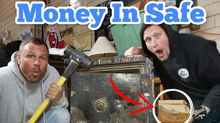 FOUND MONEY IN SAFE I Bought Abandoned Storage Unit Locker Opening Mystery Boxes Storage Wars
