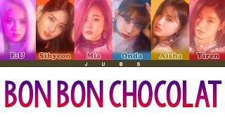Download lagu Como Cantar 'Bon Bon Chocolat' - EVERGLOW (Letra Simplificada)