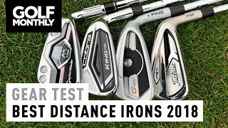 Best Distance Irons 2018 | M CGB vs King F8 vs G400 vs 718 AP1 | Golf Monthly