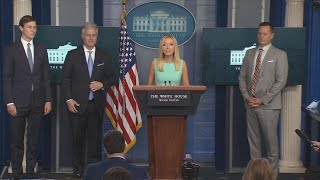 09/04/20: NSA O'Brien, Advisor Grenell, and Press Secretary McEnany Hold a Press Briefing