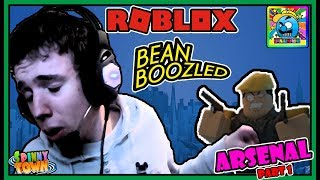 Roblox | The Arsenal Bean Boozled Challenge | SHORT MINI VIDEO