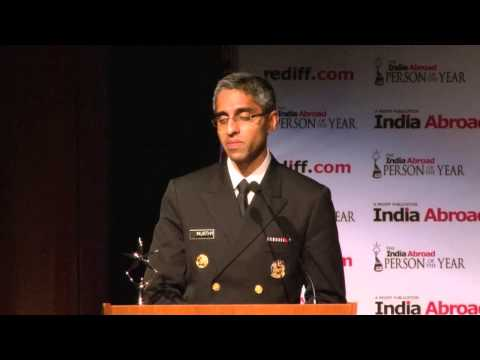 The India Abroad Person of the Year 2014: Vivek H Murthy