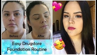 UPDATED FOUNDATION ROUTINE | Full Coverage & Long Wearing