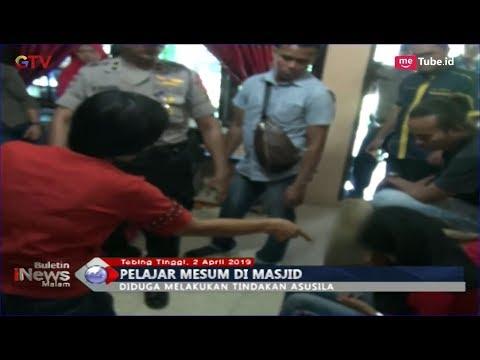Berbuat Mesum Di Masjid, 3 Pelajar SMP Dan 1 SMA Di Tebingtinggi Diamankan Polisi - BIM 02/04