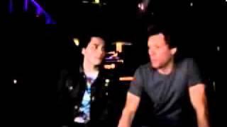 Gerard Way & Jon Bon Jovi   Interview2