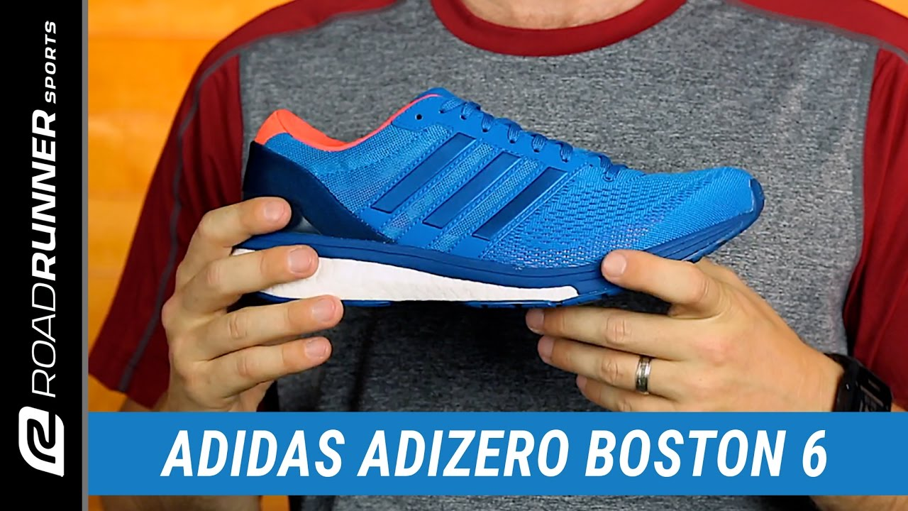 cheap for discount 86652 1bc1b adidas Adizero Boston 6  Mens Fit Expert Review - YouTube